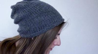 modele tricot bonnet femme facile