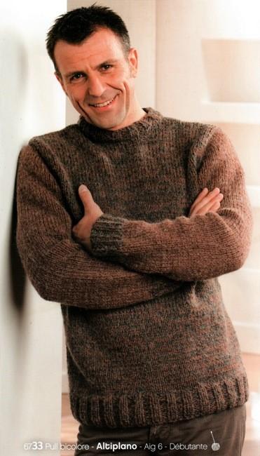 modele tricot homme gratuit