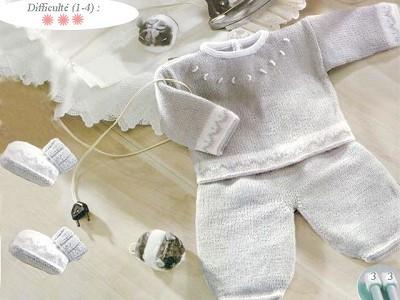 modele tricot layette garcon gratuit