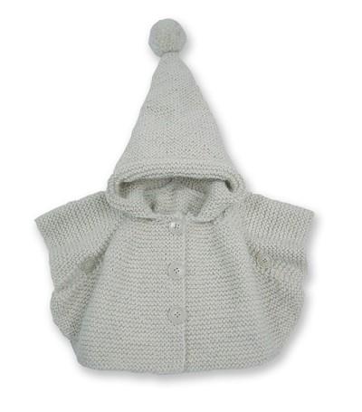 modele tricot poncho capuche bebe gratuit