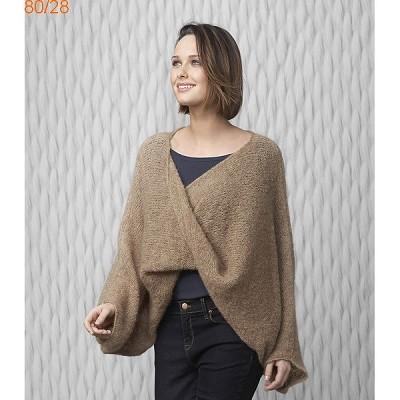 modele tricot poncho gratuit