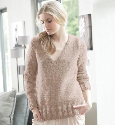 modele tricot pull femme facile gratuit