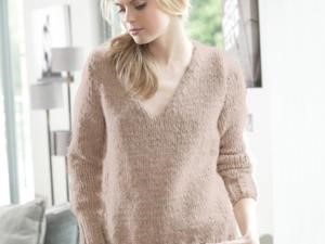 modele tricot pull fille