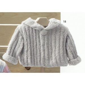modele veste bebe tricot gratuit