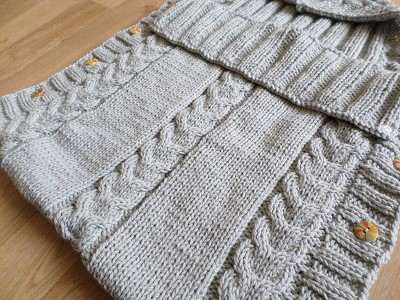 nid d ange tricot facile