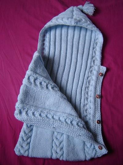 nid d ange tricot modele gratuit