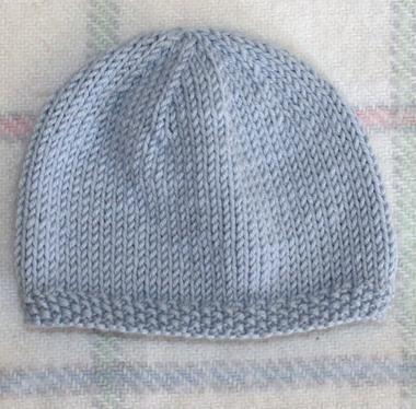 patron bonnet nouveau ne tricot gratuit