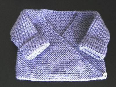 patron brassiere bebe tricot