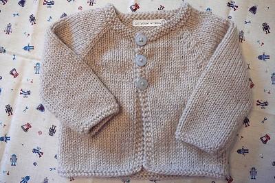 patron gilet bebe tricot gratuit