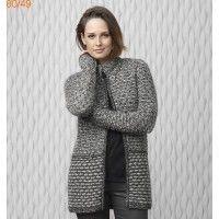 patron gilet femme tricot