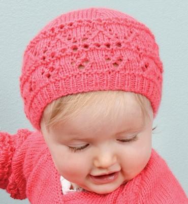 patron gratuit bonnet bebe tricot