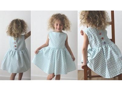 patron robe enfant gratuit