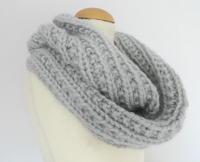 patron snood tricot