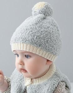 patron tricot bonnet bebe