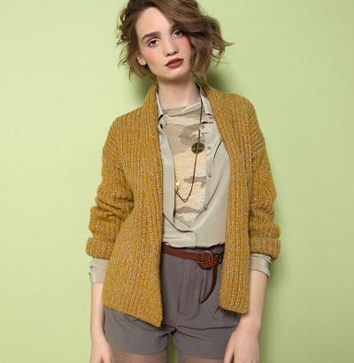 patron tricot gilet femme