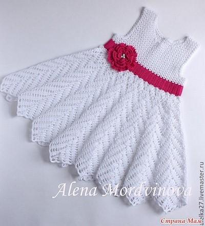 petite robe bebe au crochet