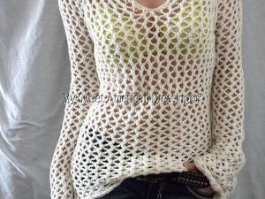 pull crochet facile