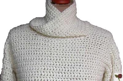 pull crochet femme facile