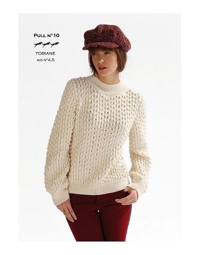 pull tricot modele gratuit
