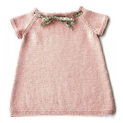 robe bebe tricot facile