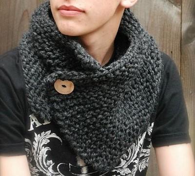 snood femme tricot gratuit