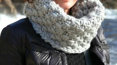 snood tricot
