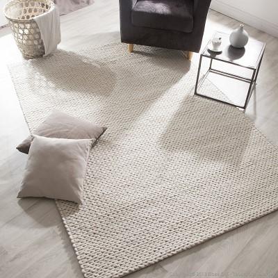 tapis au tricot