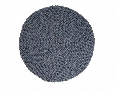 tapis rond laine