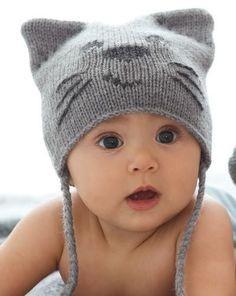 tricot bebe bonnet