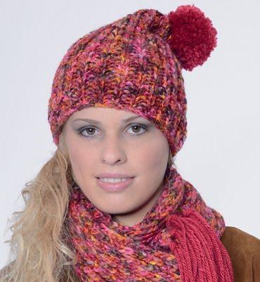 tricot bonnet femme