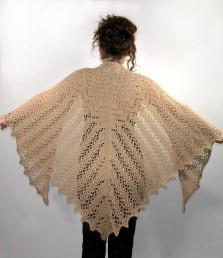 tricot chale modele gratuit