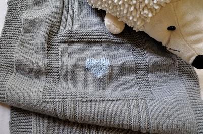 tricot couverture bebe patron gratuit