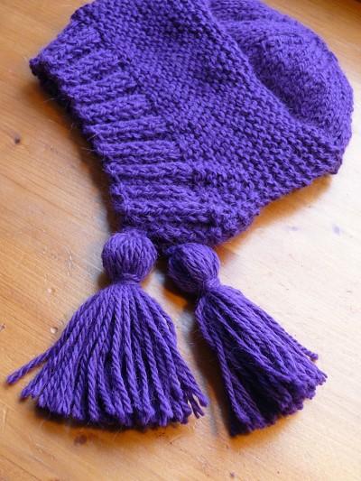 tricot faire un gland