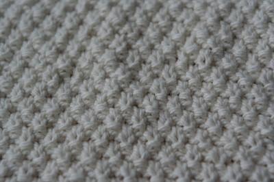 tricot point de ble