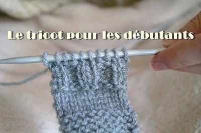 tricot pour les debutants
