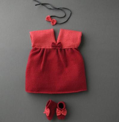 tricot robe bebe