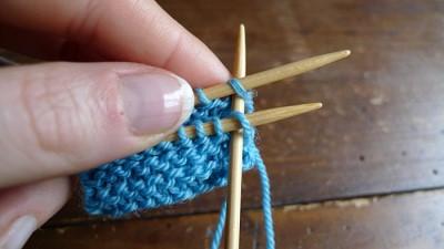 tricoter avec 3 aiguilles