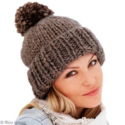 tricoter un bonnet de femme