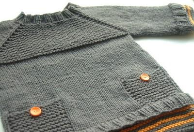 tricoter pull bebe 3 mois