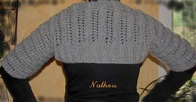 tricoter un bolero