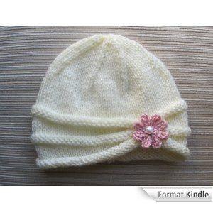 tricoter un bonnet de naissance