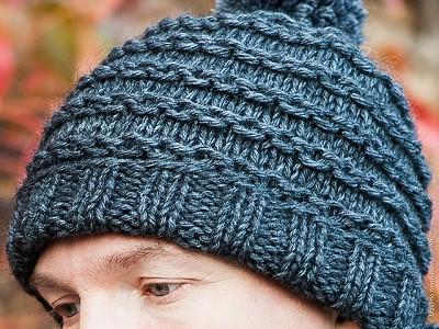 tricoter un bonnet pour homme