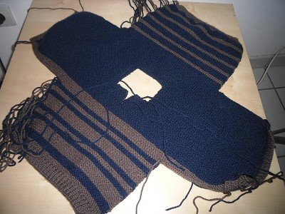 tricoter un pull bebe facile