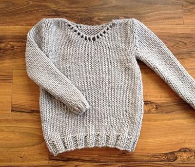 tricoter un pull facile debutant