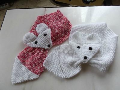 tricoter une echarpe bebe