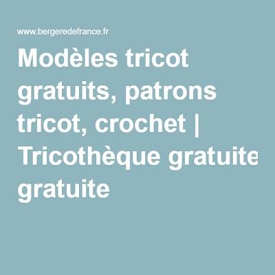 tricotheque gratuite