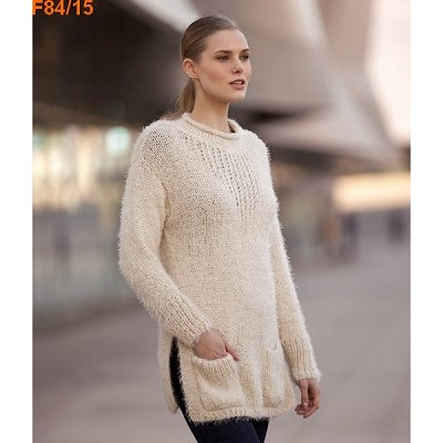 tunique en laine femme