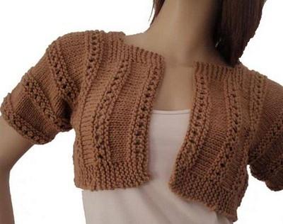 tuto bolero tricot
