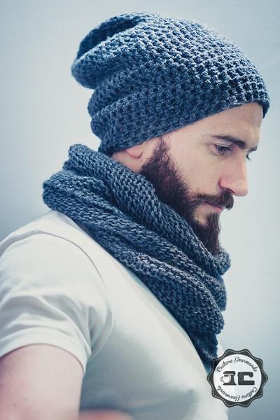tuto bonnet crochet homme