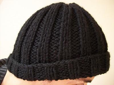 tuto bonnet homme tricot